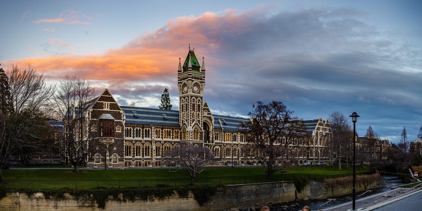 紐西蘭最古老的大學─奧塔哥大學(圖/shutterstock.com)