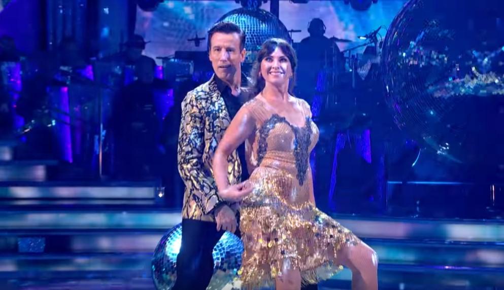 Anton Du Beke and Emma Barton in 'Strictly Come Dancing' (BBC)