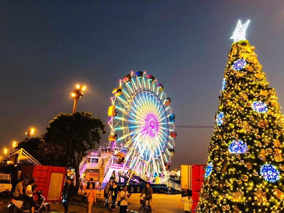 24公尺高的大港尖叫飛天輪(圖片來源:JETS 嘉年華FB)