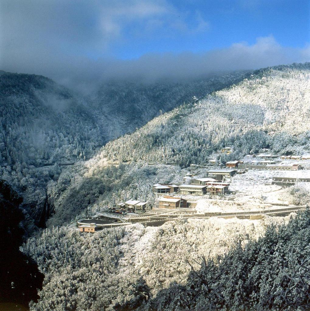 若是遇到寒流來襲,太平山海拔1800公尺以上的區域與翠峰湖有望降下皚皚白雪。圖/觀光局