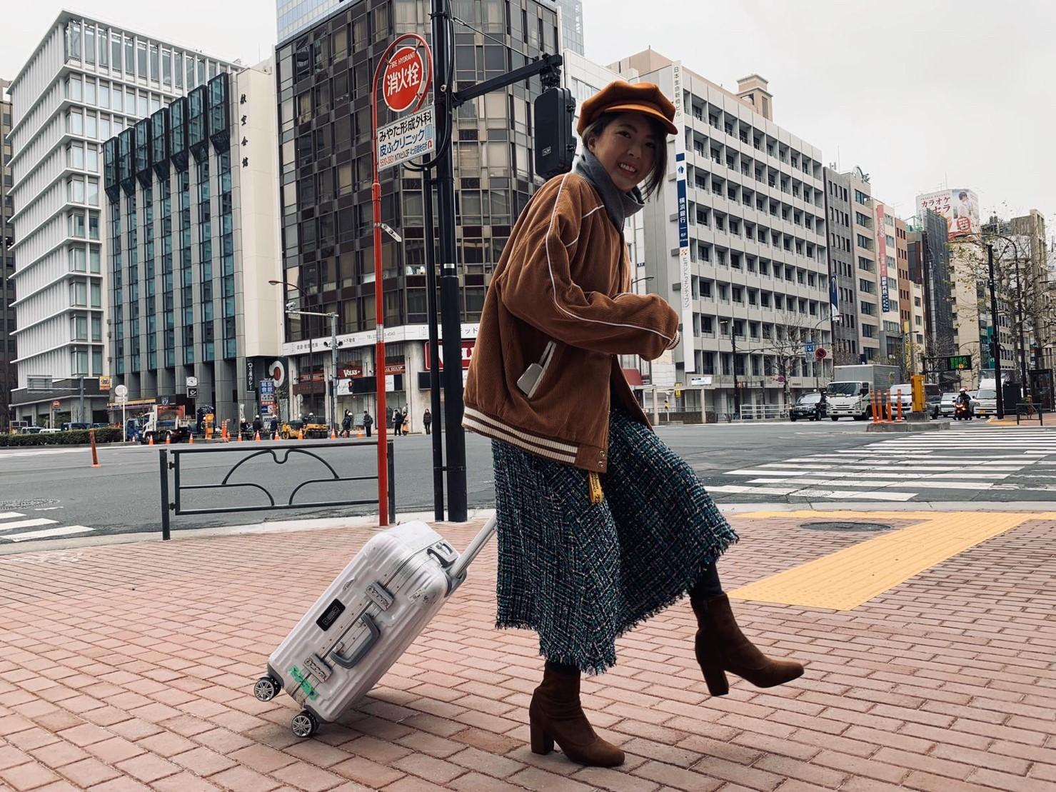 ▲這趟日本自由行,讓黃沐妍搶到紅眼班機,機票價格非常便宜。