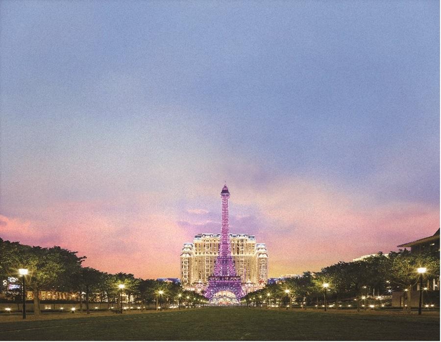 巴黎人花園。圖片提供/澳門巴黎人