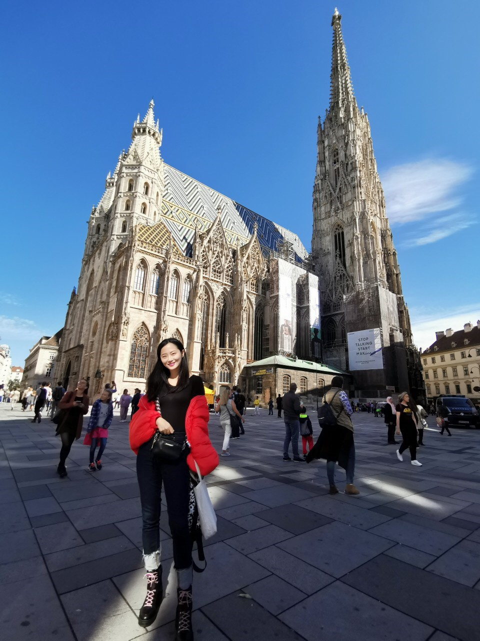 ▲維也納聖史蒂芬大教堂,也是世界第二高的哥德式教堂。