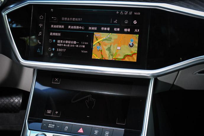 利用語音來設定導航位置辨識度雖然仍需加強,不過在於手寫操作的介面上,卻相當直覺上手。版權所有/汽車視界