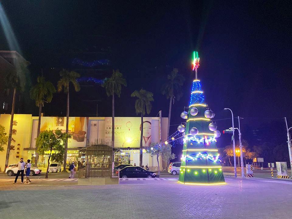 新營文化中心聖誕樹(圖片來源:新營文化中心FB)