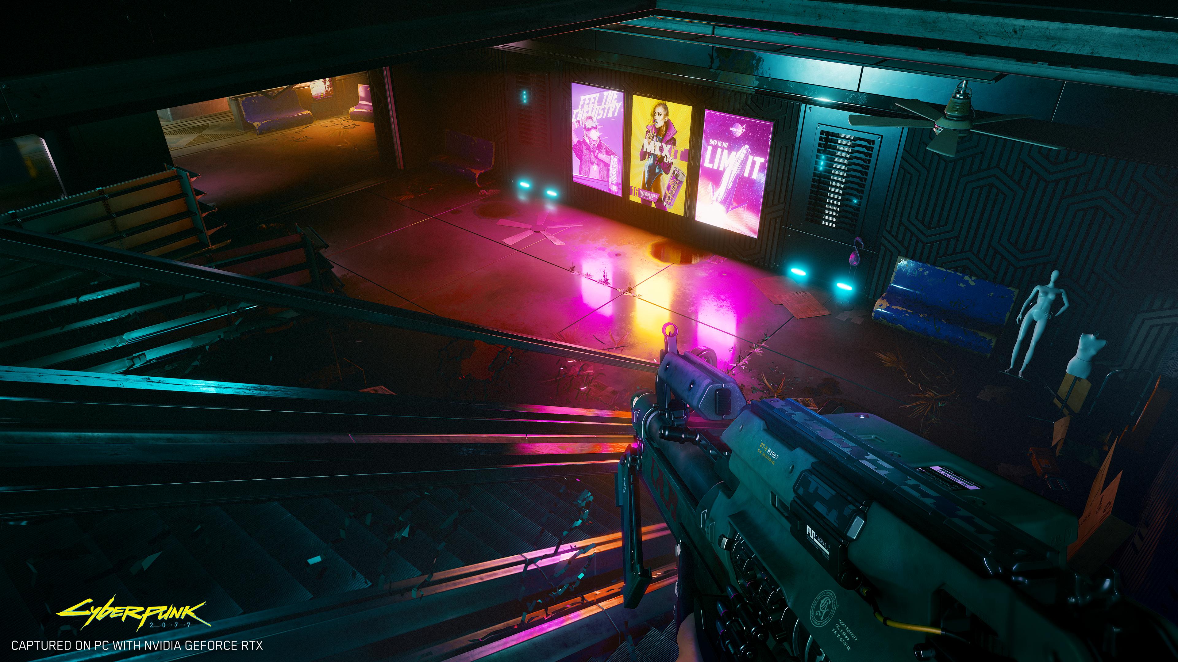 2077 也確認將支援光線追蹤技術,或許正是製作人所說的理由。(圖源:Cyberpunk 2077)
