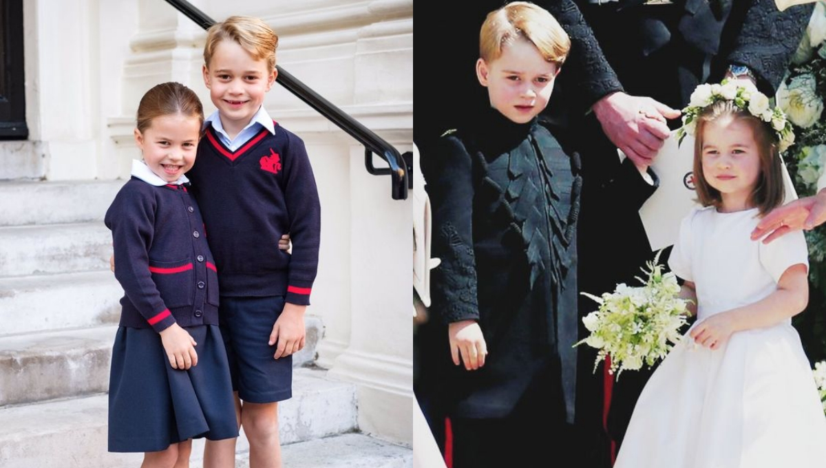 喬治小王子&夏綠蒂公主長大了!越來越有皇室風範的萌造型