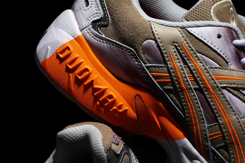 此次雙方聯名所採用的鞋款是 asics 過往便已推出過的 GEL-KAYANO