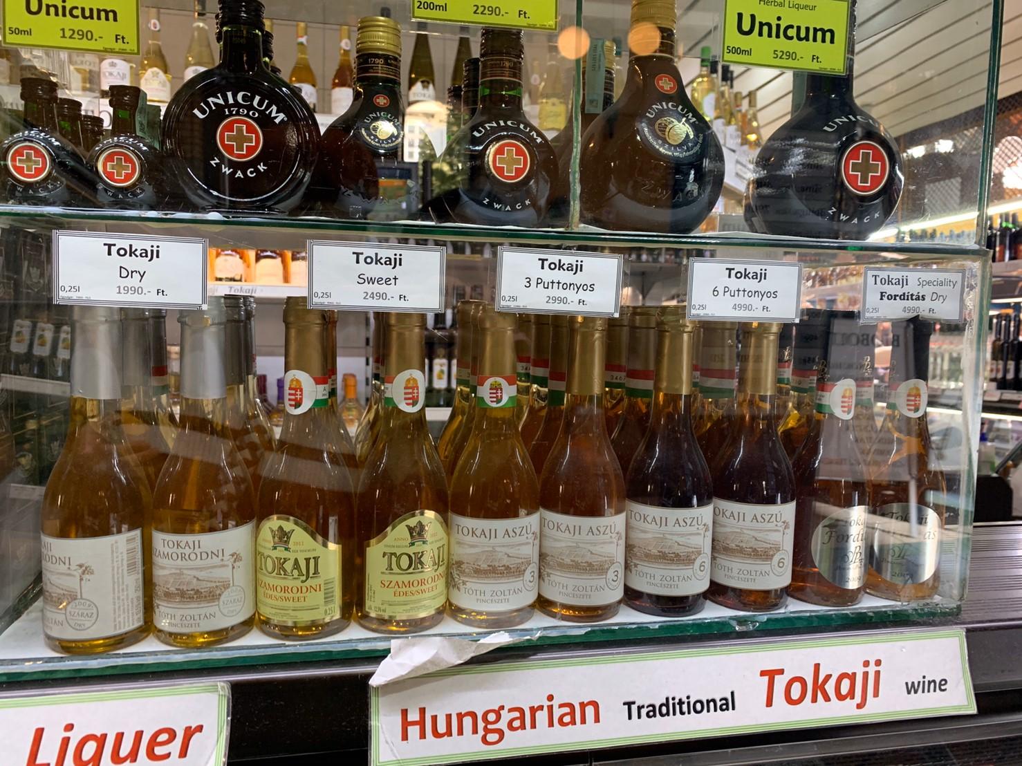 ▲匈牙利的貴腐甜酒相當好喝,讓趙小僑大力推薦。