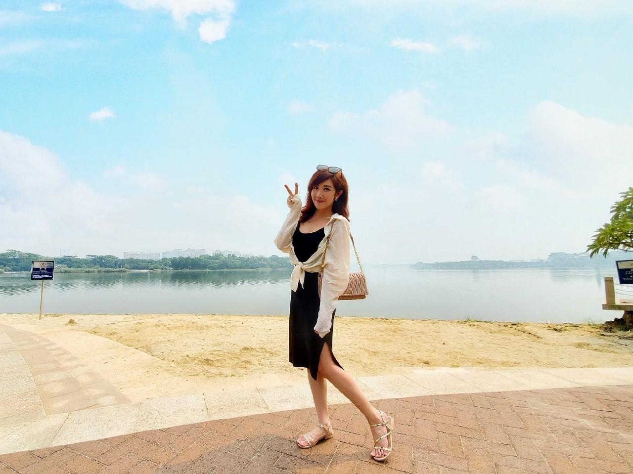 ▲東莞松山湖景色優美,還有規劃完整自行車道。