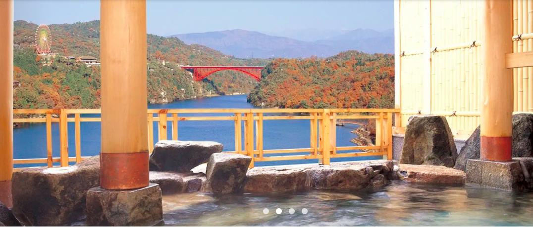 惠那峽乘船遊覽 & 午餐 & 露天浴池體驗
