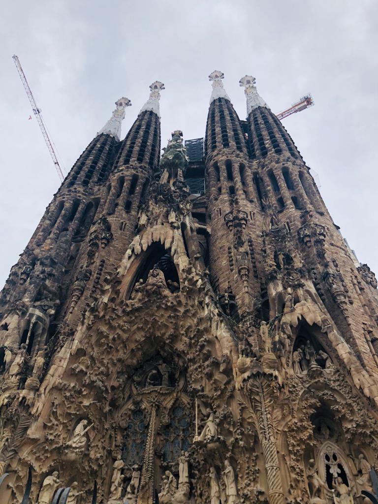 ▲巴賽隆納的著名景點聖家堂(Segrada Família)也是必去景點。