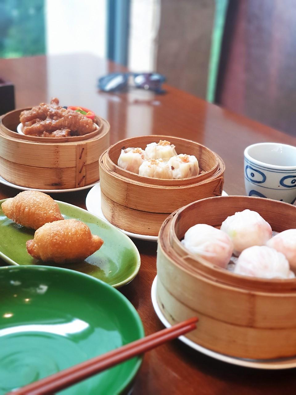▲來到廣東省,黃若薇大推粵式飲茶。