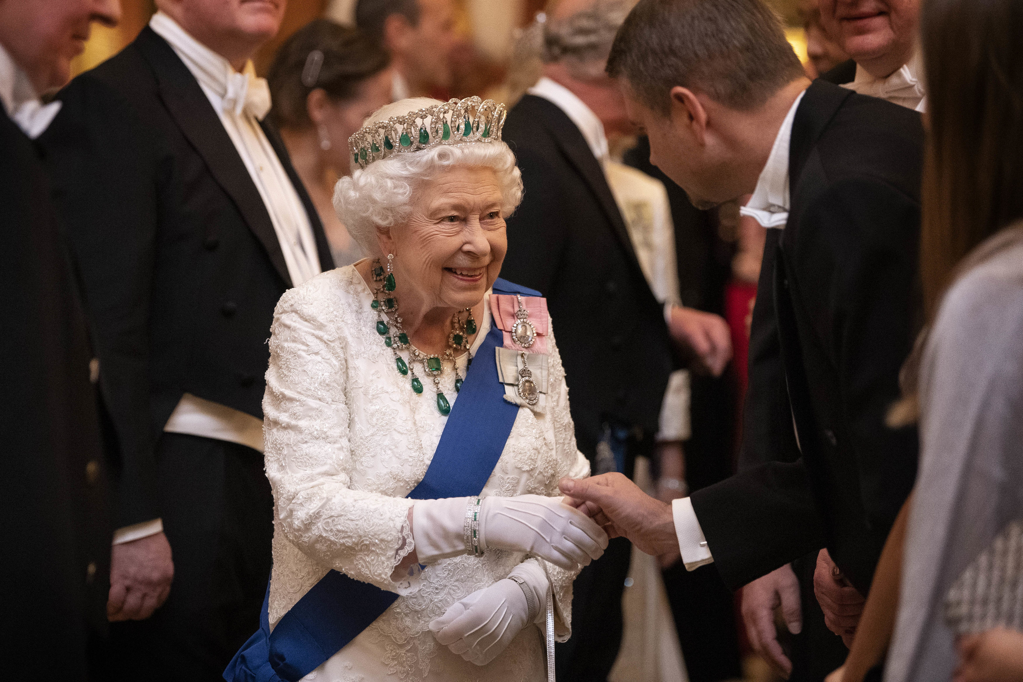 The Queen has been left in a difficult position following the scandal surrounding Prince Andrew (Picture: Victoria Jones/PA Wire)