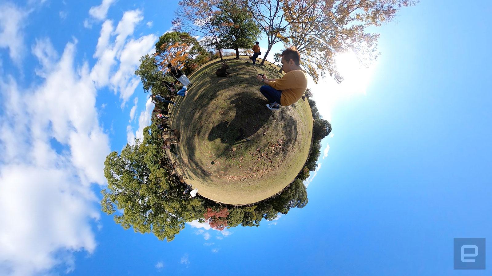 GoPro Max 实拍范例