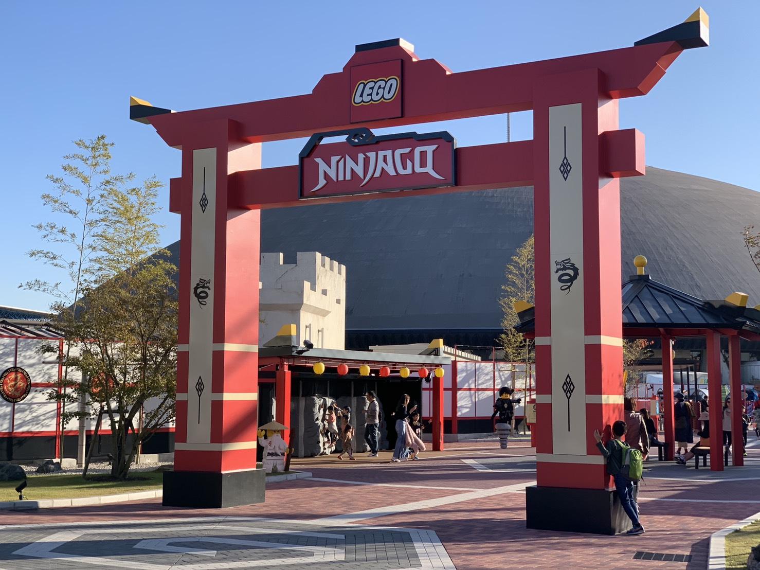 Ninjago園區是樂高樂園最新開放的園區