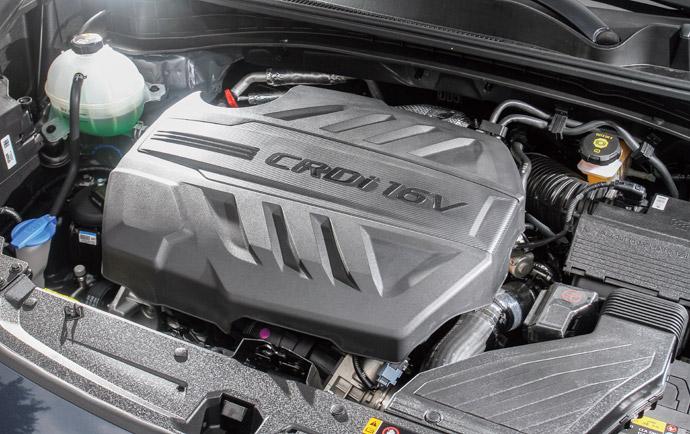 隨傳隨到Sportage採用了2.0升L4渦輪增壓柴油引擎,最大動力達到185ps/41.0kgm,於低速時的加速表現相當飽滿豐厚,搭配八速手自排更是讓動力源源不絕的飽滿輸出,此外更達到14.0km/L的一級油耗表現。版權所有/汽車視界