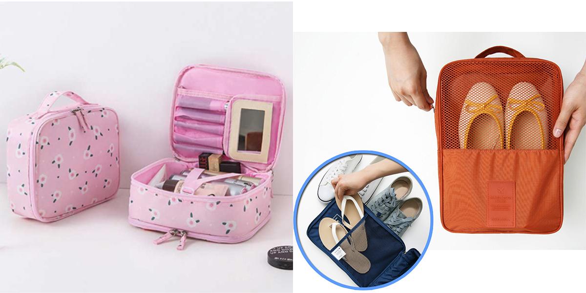 行李總是亂糟糟?美觀實用兼具!6大必備收納質感小物讓你出遊沒煩惱~