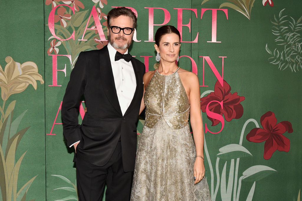 Colin and Livia Firth attend a fashion event on Sept. 22 in Milan. (Photo: David M. Benett/Dave Benett/Getty Images for Eco-Age Ltd)