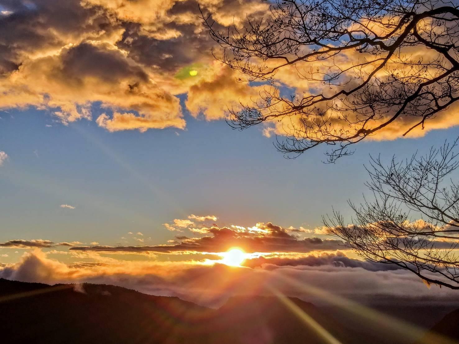 迎曙光、看日出,象徵新的開始,也是跨年必做清單事項。圖/太平山國家森林遊樂區臉書粉絲專頁
