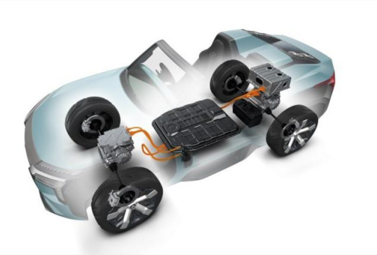 預計搭載源自 Mitsubishi 概念車 MI-TECH 上的 PHEV 插電式混合動力系統。