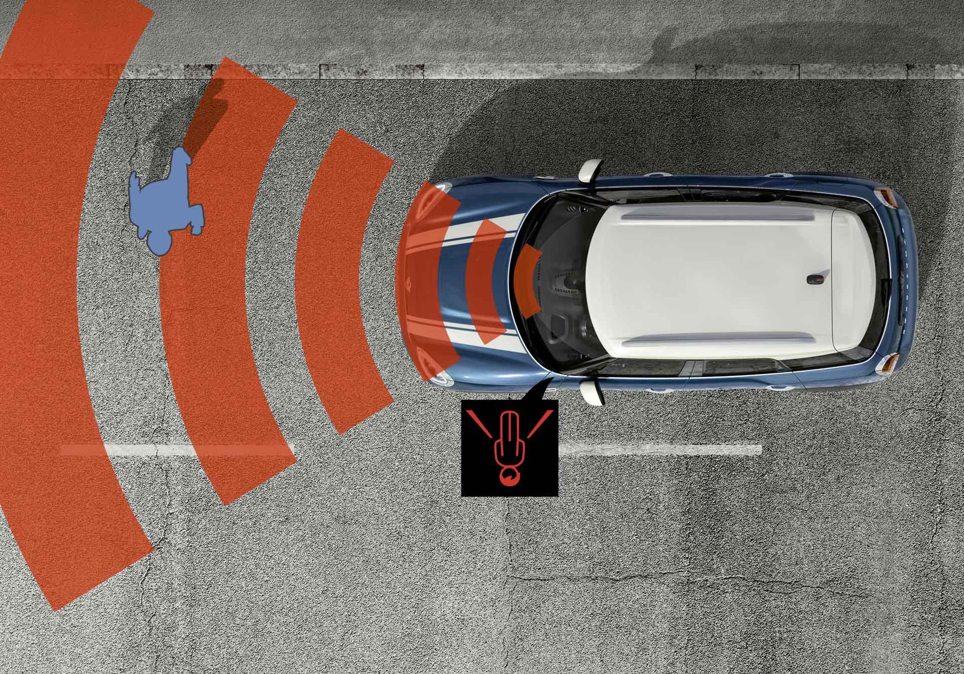 MINI Countryman Deluxe豪華野營版標準配備碰撞預警系統