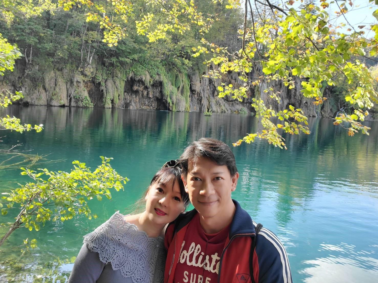 ▲徐展元、谷懷萱,二度蜜月,選擇探訪陌生國度克羅埃西亞與斯洛維尼亞。