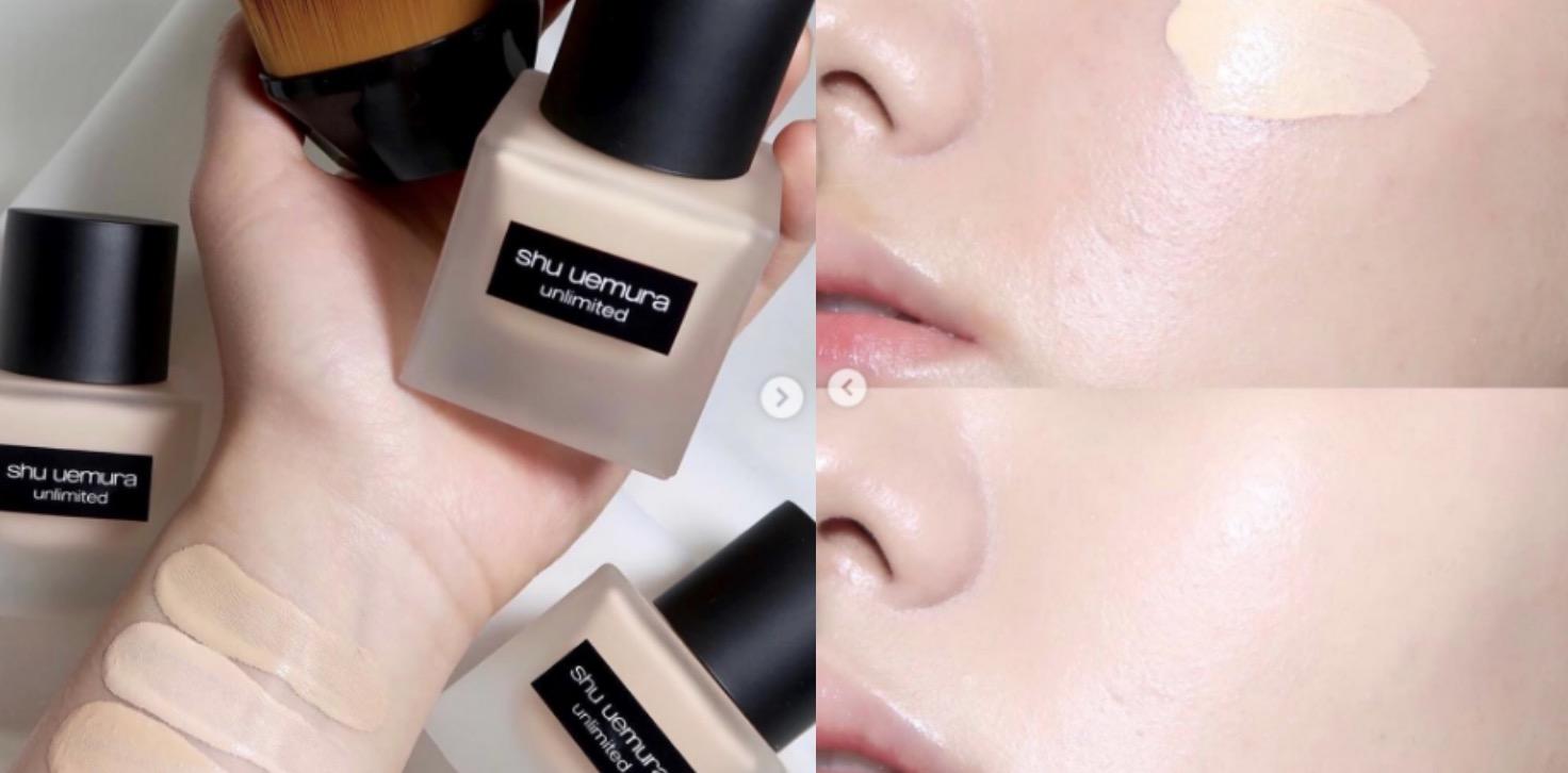 植村秀無極限超時輕粉底 專為亞洲肌膚打造的粉底液,突破底妝極限,是2019化妝步驟中神級單品