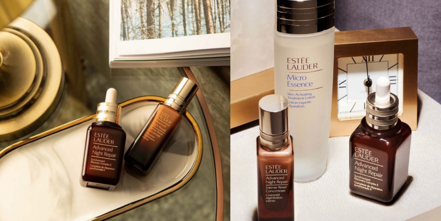 雅詩蘭黛最熱銷的經典特潤系列 小棕瓶強大的夜間修護能量,能使肌膚煥發年輕光采,立即增添光澤