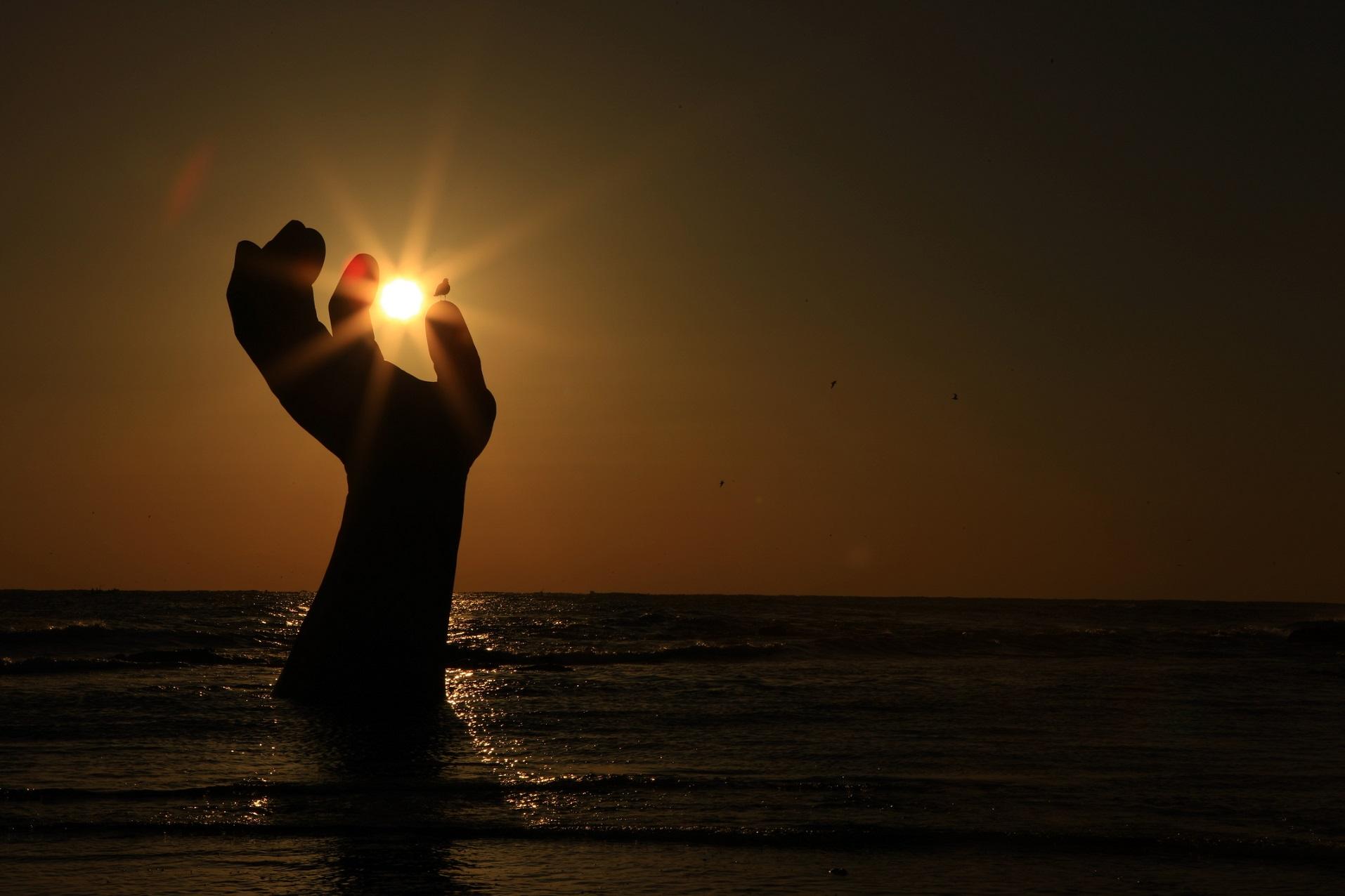 ▲浦項的虎尾岬是韓國最早能夠欣賞日出的地方(圖/韓國觀光公社)