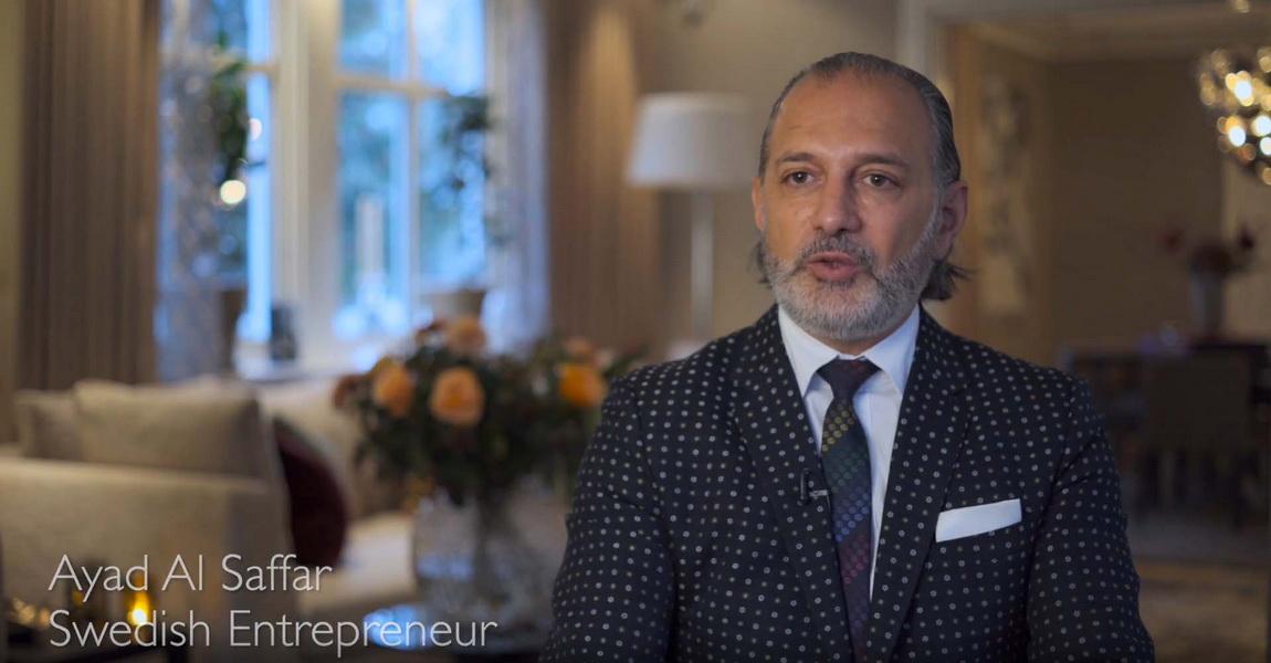 圖/來自瑞典斯德哥爾摩的企業家Ayad Al Saffar,最近委託勞斯萊斯客制化部門Bespoke,定製了獨一無二的玫瑰版勞斯萊斯。