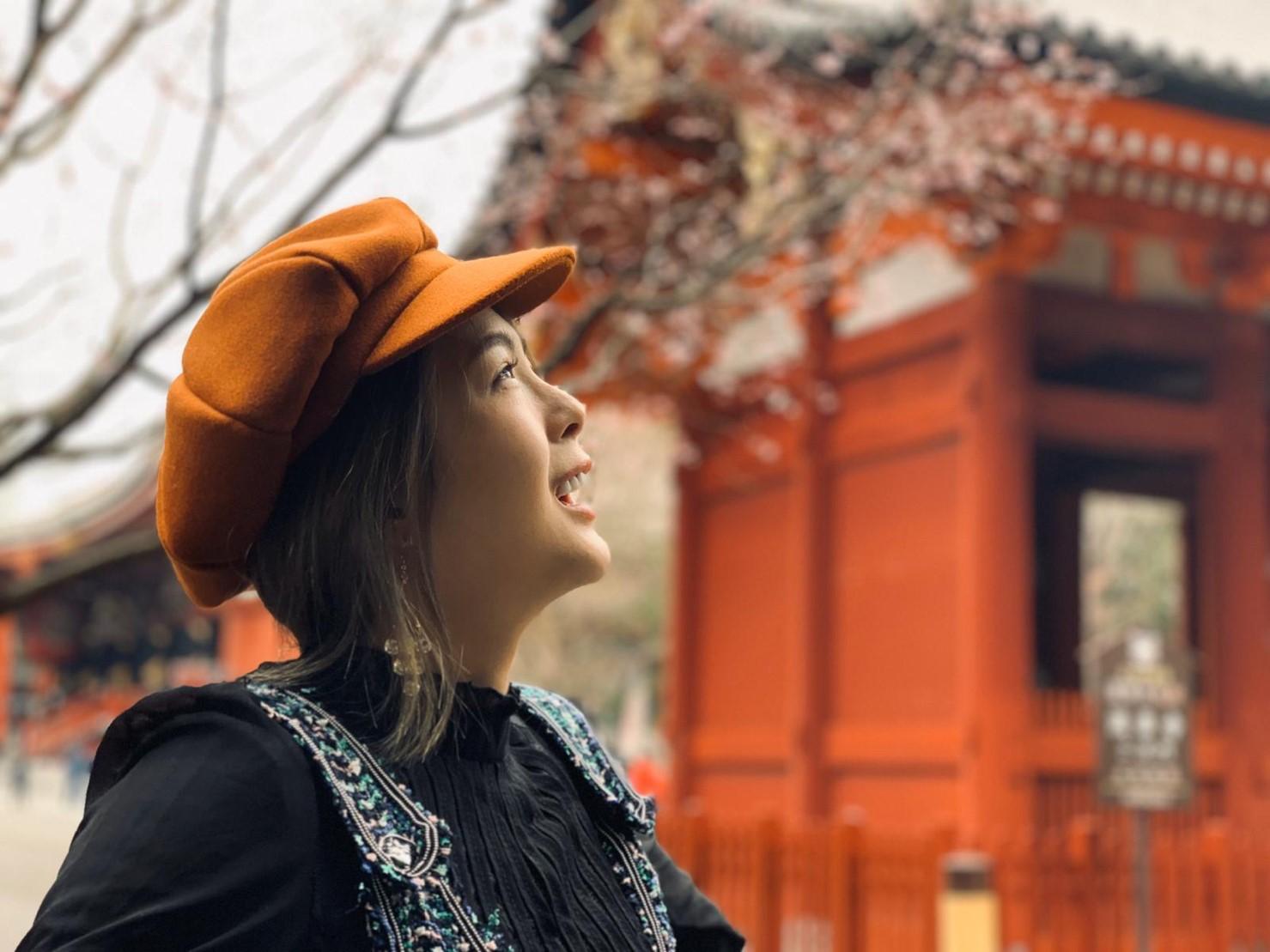 ▲黃沐妍希望下次能來淺草寺體驗穿和服。