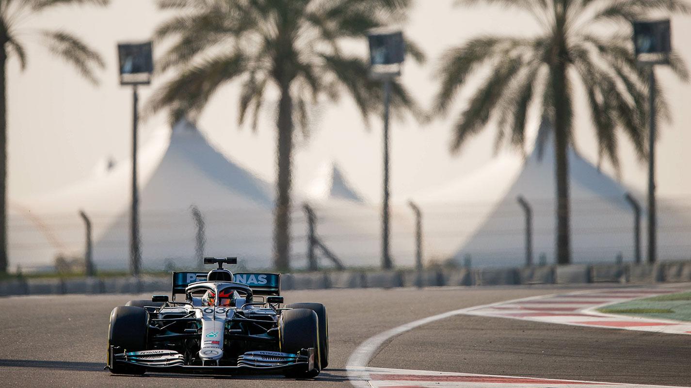 季後集測次日Russell替Mercedes跑出最快圈速