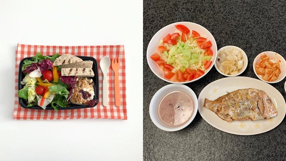 精緻澱粉減半,蔬菜、優質蛋白質X2