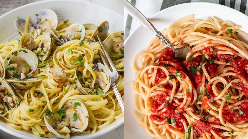 選擇調味簡單、顏色淡的食物