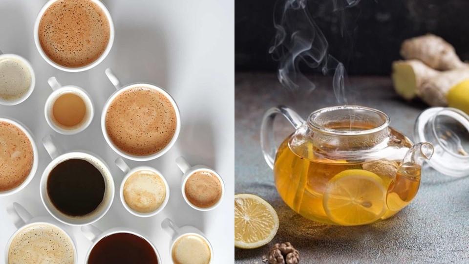 飲料以無糖咖啡、茶為主