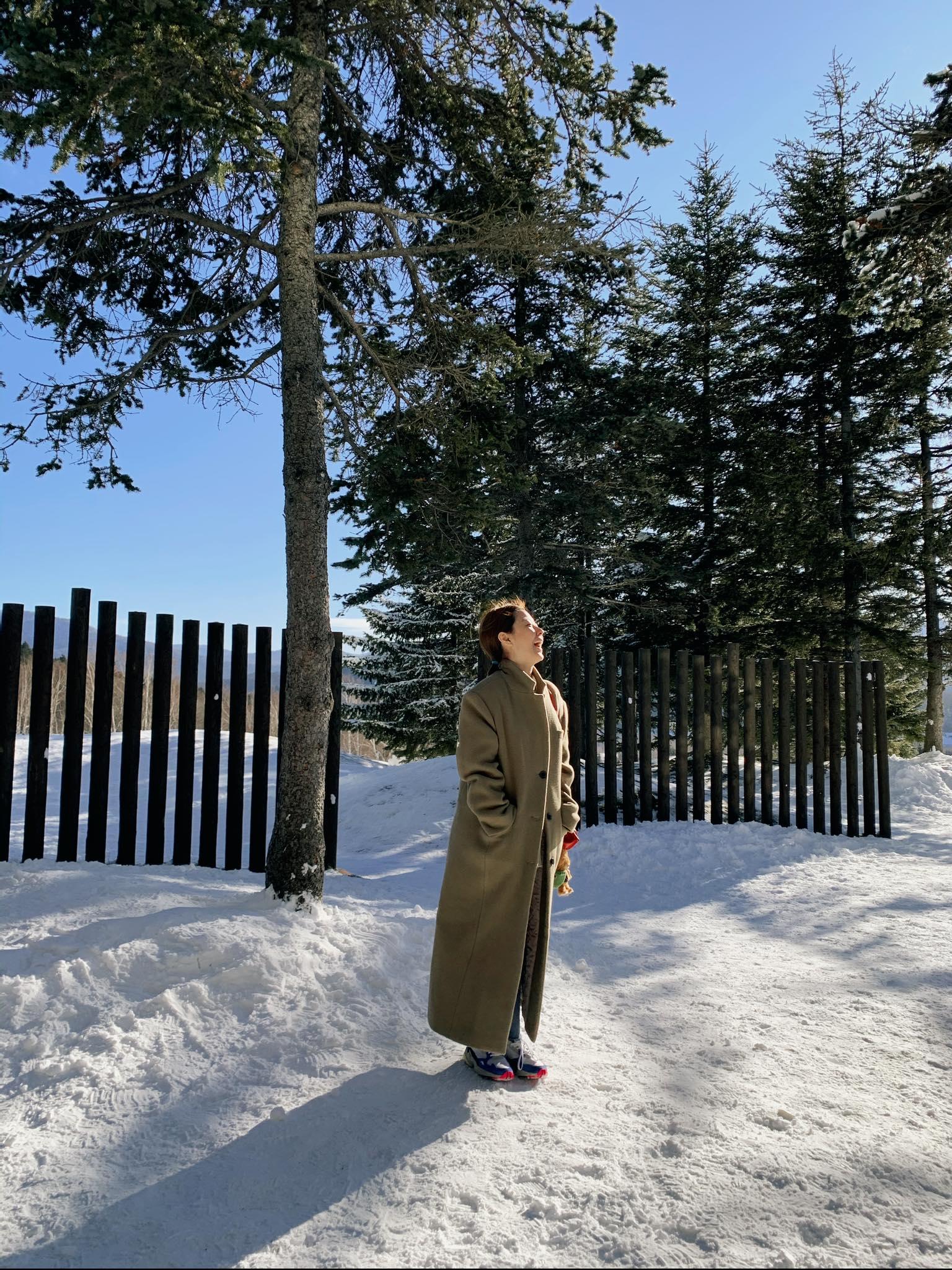 ▲李維維很享受這趟舒服且輕鬆的北海道旅遊。