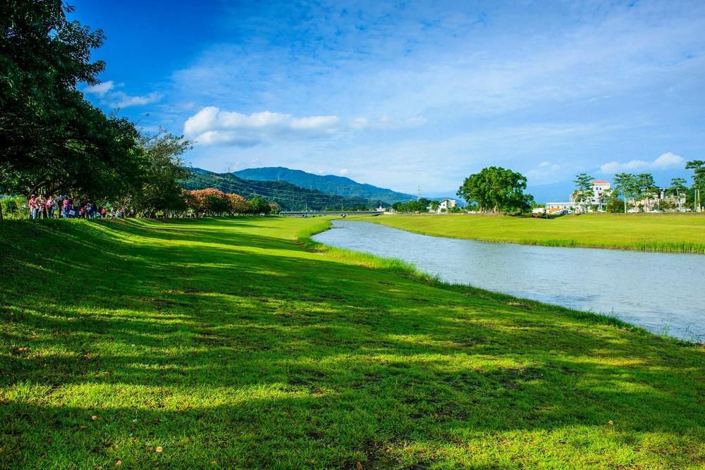 三星鄉屬於蘭陽平原最高處,擁有豐富的自然景觀與純淨水質,三星的生命之河-安農溪川流不息。圖/第一河川局官網