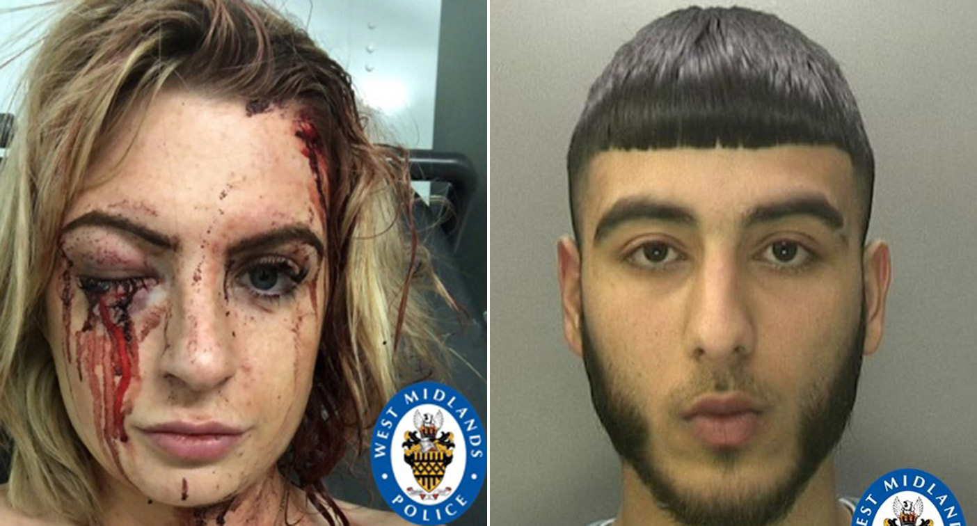 Blythe Mason-Boyle, left, was attacked by Majid Ali, right (Pictures: PA)