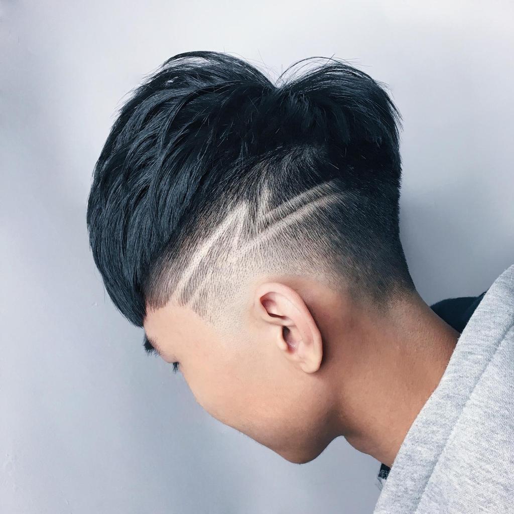 刻一個讓人印象深刻的型男性格刻線,就能讓髮型一下子提升好幾個檔次。