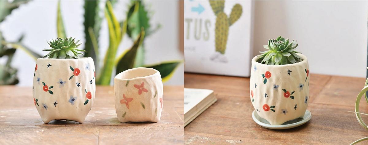 招財貓花園的陶藝家,又帶來讓人喜愛的新作品