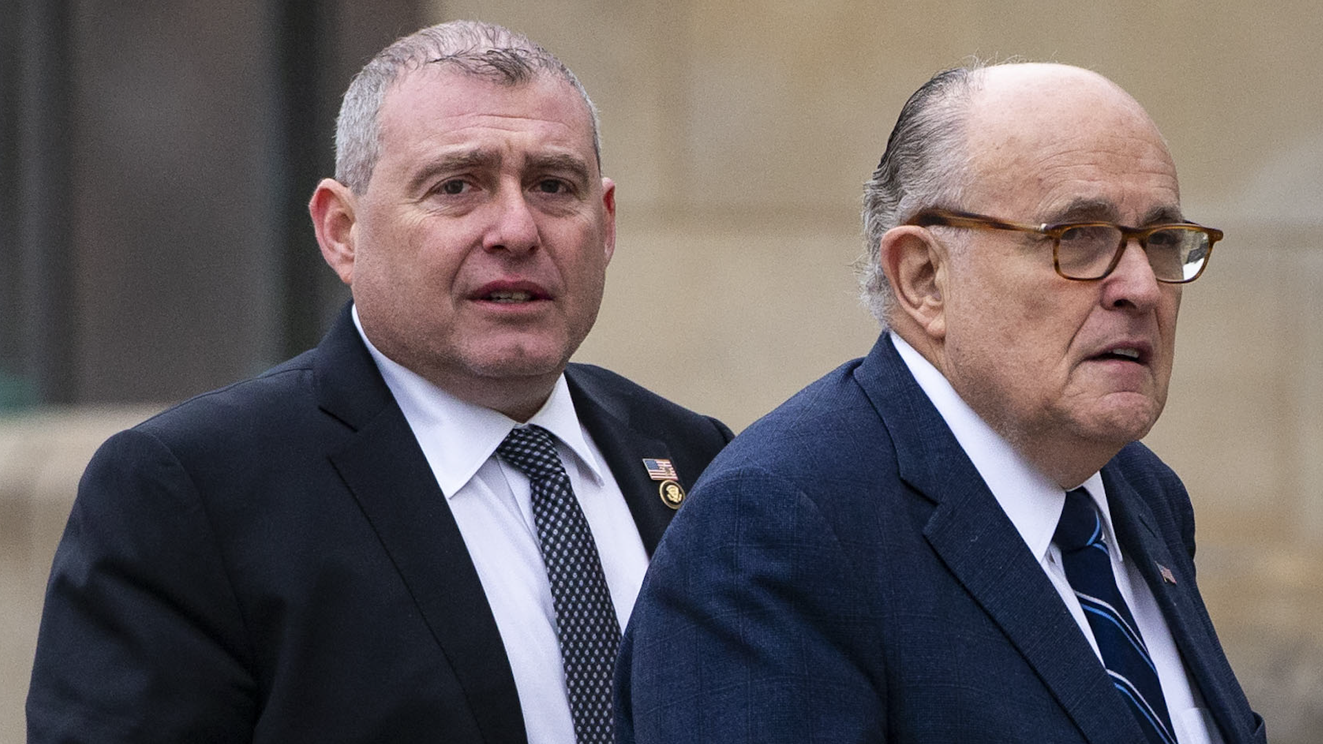 Rudy Giuliani claims Lev Parnas lied stupidly in explosive interviews