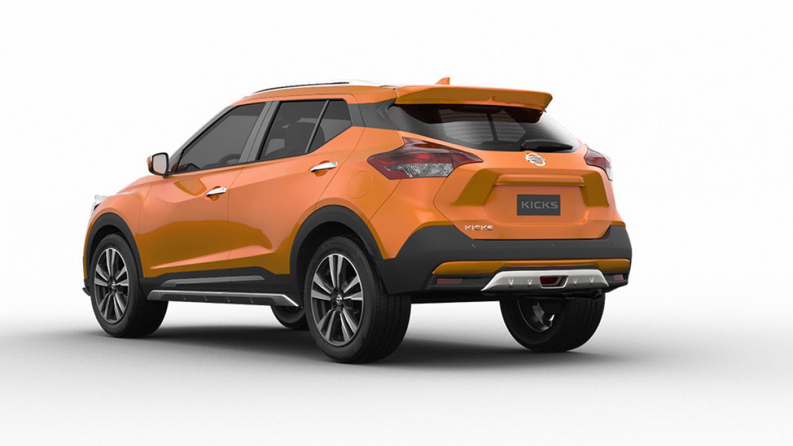 圖/2020 Nissan Kicks 1.5智行旗艦版由Nissan巴西里約設計中心親手操刀,提供多種顏色,讓車主能展現自我風格。