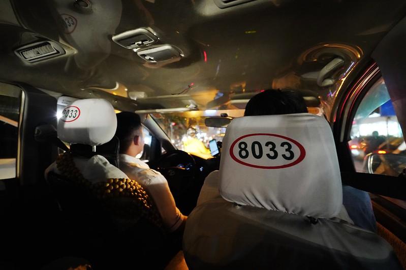 胡志明市搭計程車