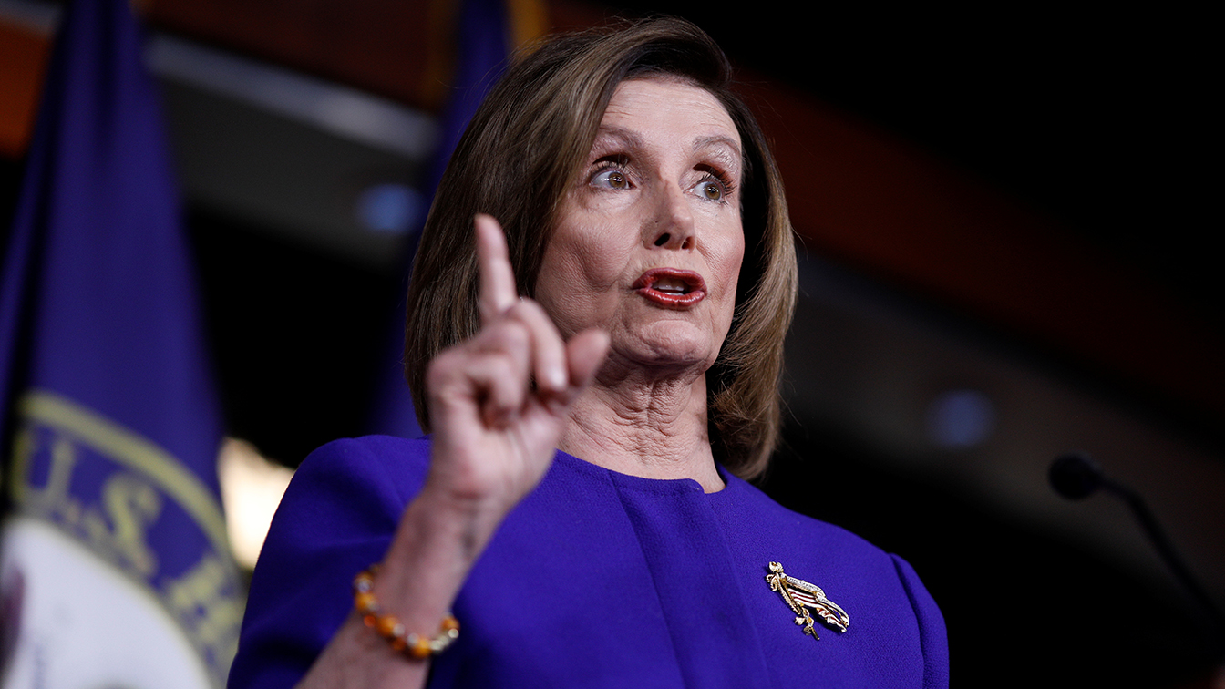 Pelosi says she will send impeachment articles once McConnell discloses Senate rules