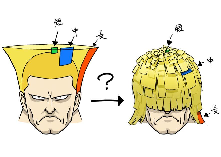 很厲害的分析,連頭髮長度都考慮到了。(圖源:Twitter)