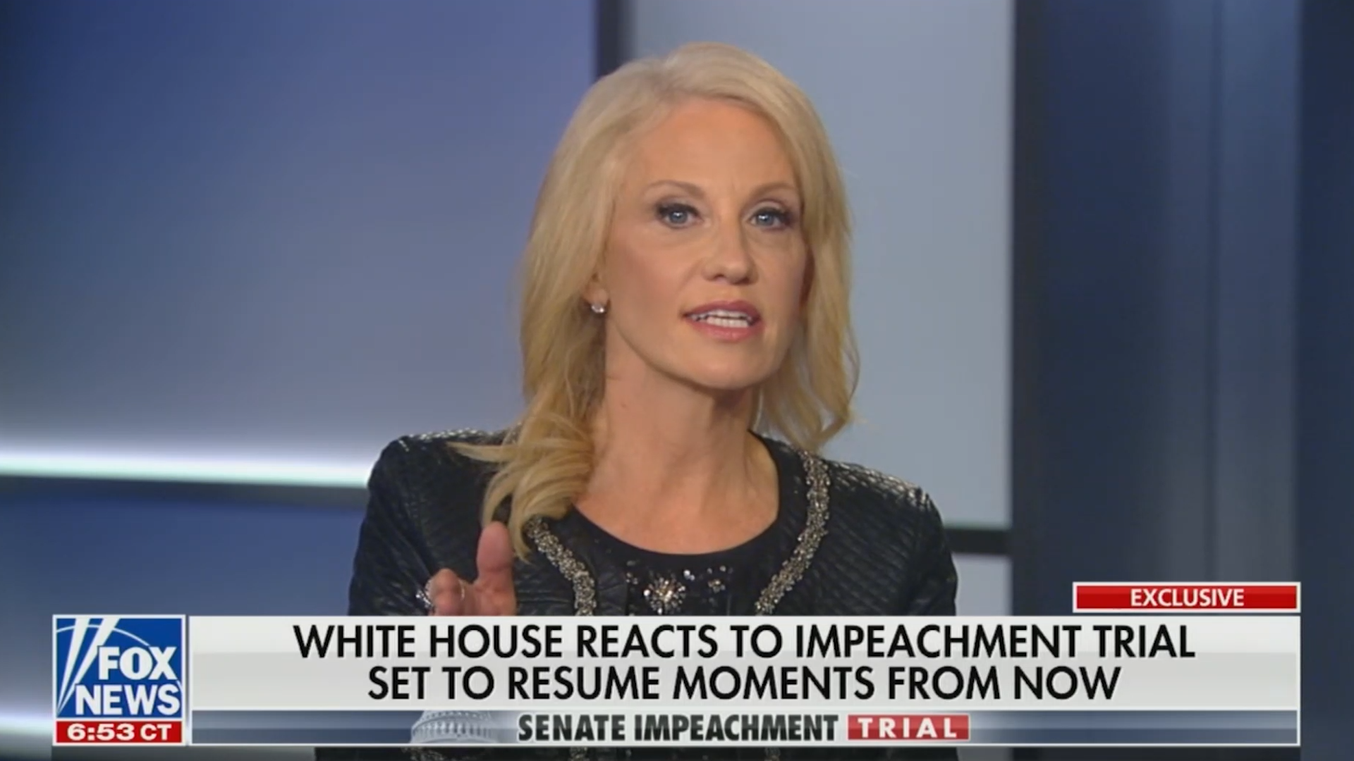 Kellyanne Conway called out by Chris Wallace for calling timing of Ukraine aid coincidence