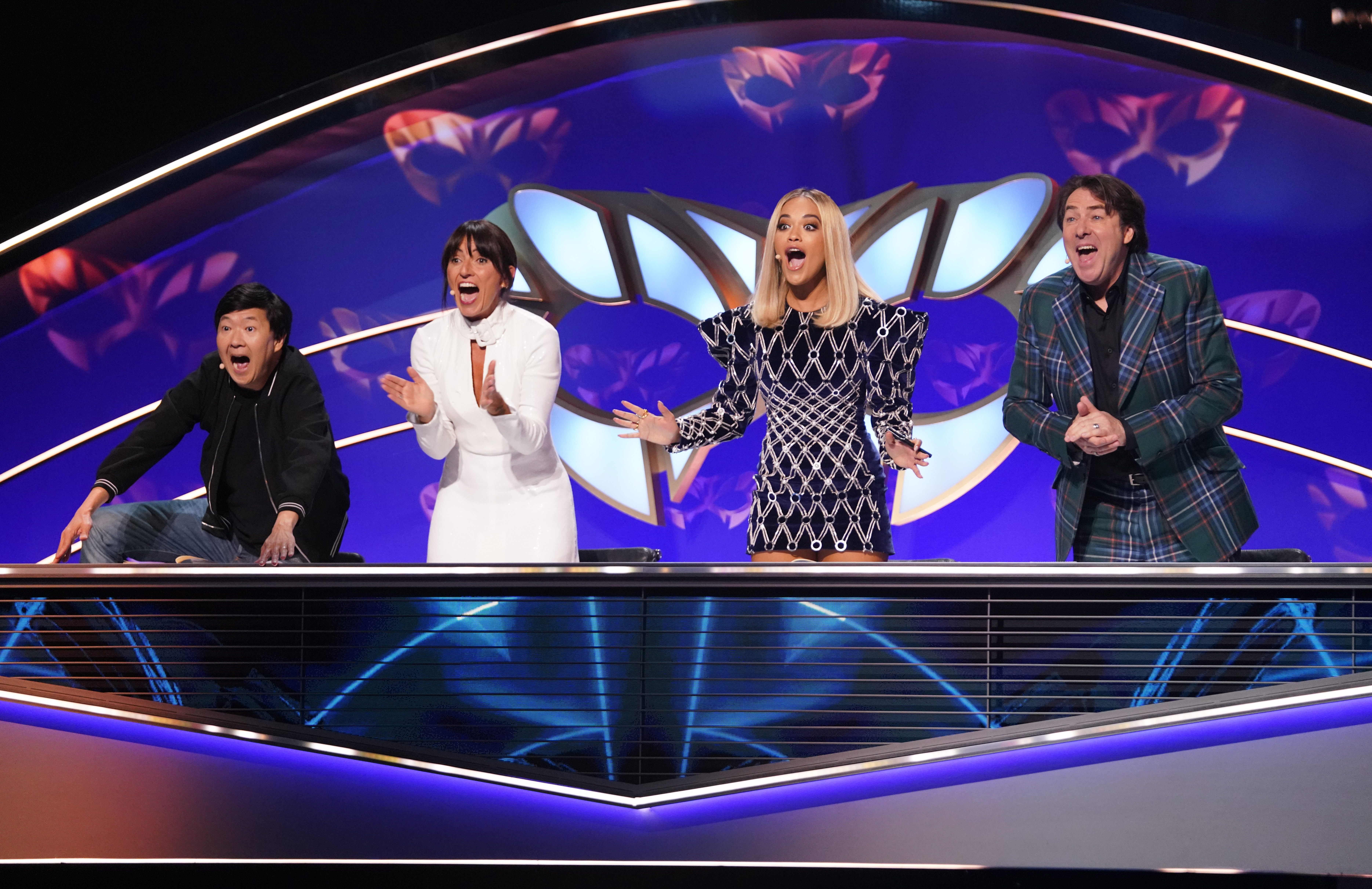 The Masked Singer judges might be surprised at some of the reveals. (ITV/Bandicoot TV)