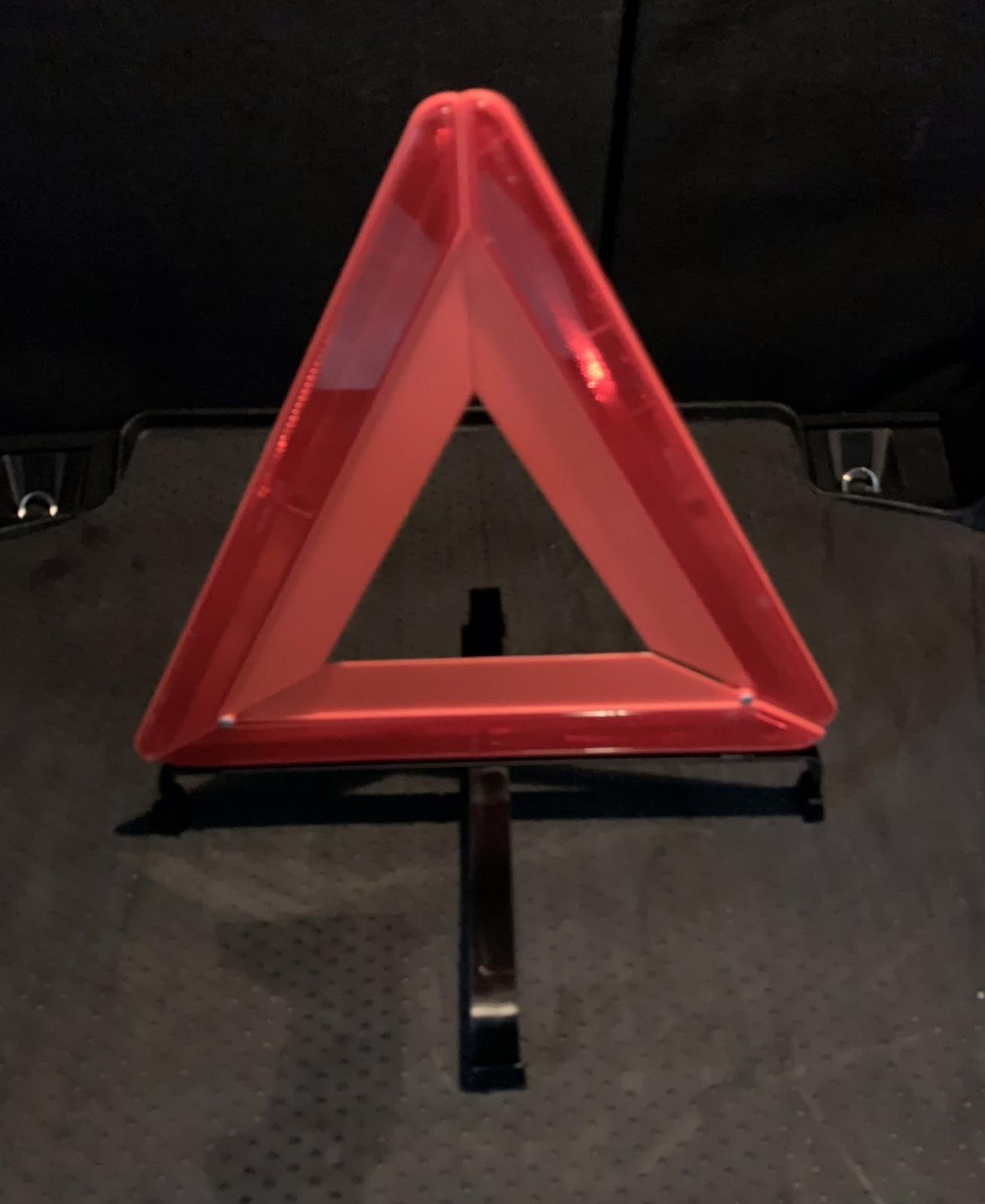 圖/三角警示牌。