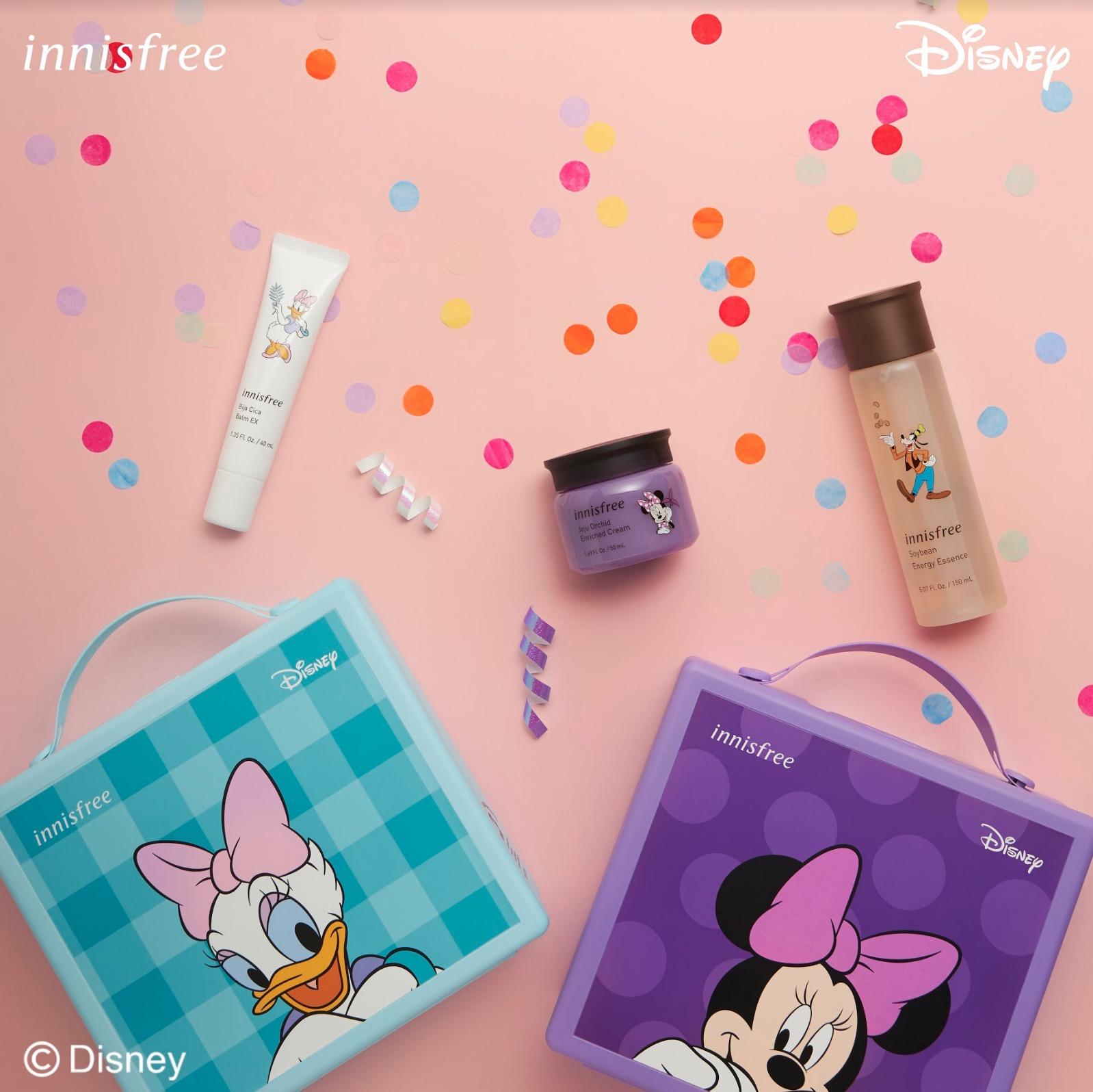 innisfree 於 2020 年 1 月再度推出《innisfree 2020 迪士尼限定系列》,從臉部保養、身體護理到彩妝產品應有盡有!